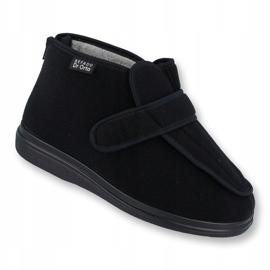 Befado chaussures pour hommes pu orto 987M002 le noir 1