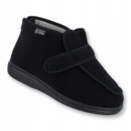 Befado chaussures pour hommes pu orto 987M002 noir 1