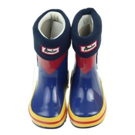 American Club Bottes en caoutchouc américain enfants chaussette 4