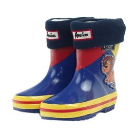 American Club Bottes en caoutchouc américain enfants chaussette 3