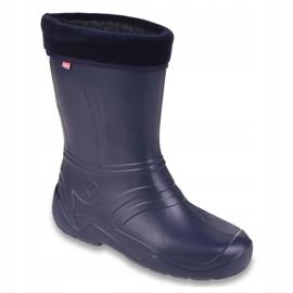 Befado chaussures pour enfants kalosz- grenat 162Q103 marine 1