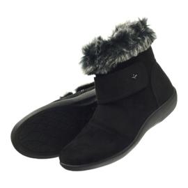 Bottes noires super confortables Aloeloe 4