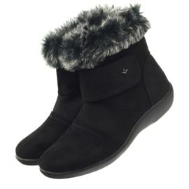 Bottes noires super confortables Aloeloe 3
