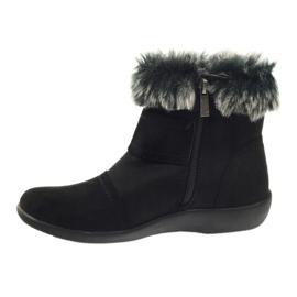 Bottes noires super confortables Aloeloe 2