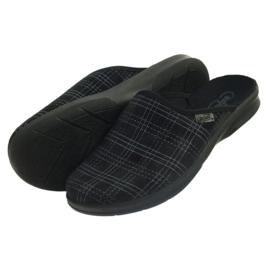 Chaussures Befado pour hommes, chaussons 548m011 noir 4