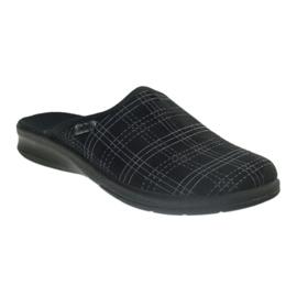 Chaussures Befado pour hommes, chaussons 548m011 noir 1