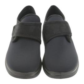 Befado Pantoufles Mocassins Dr. Orto Santé 036d006 le noir 3