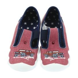 Befado enfants chaussures pantoufles 290x134 multicolore brun 4