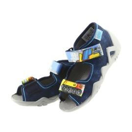 Befado pantoufles sandales chaussures enfants 250P077 marine 4