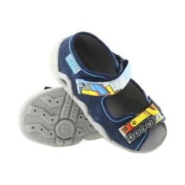 Befado pantoufles sandales chaussures enfants 250P077 marine 3