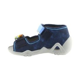 Befado pantoufles sandales chaussures enfants 250P077 marine 2