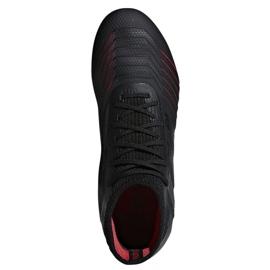 Chaussures de foot adidas Predator 19.1 FG Jr D97997 noir 1