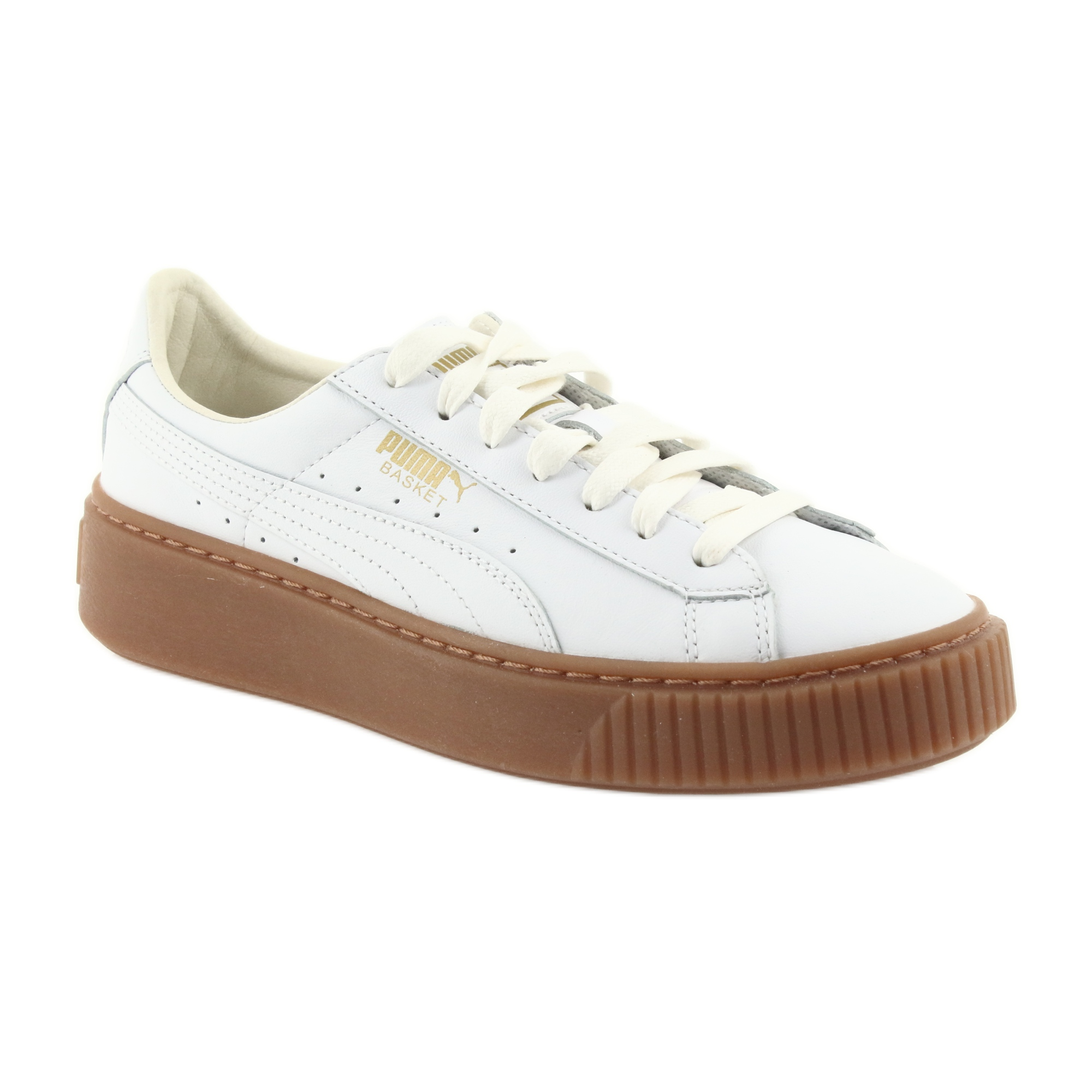 Puma blanc Chaussures femme Basket Platform Core W 001