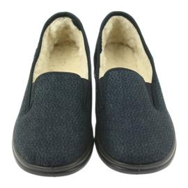 Befado chaussures pour hommes pu 096M090 marine 4