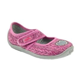 Befado chaussures pour enfants 945X325 rose 2