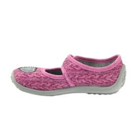 Befado chaussures pour enfants 945X325 rose 3