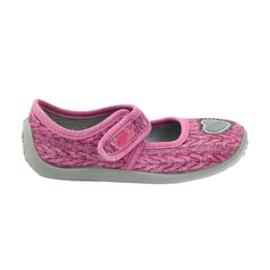Befado chaussures pour enfants 945X325 rose 1