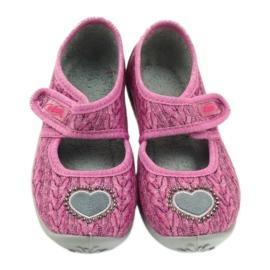 Befado chaussures pour enfants 945X325 rose 4