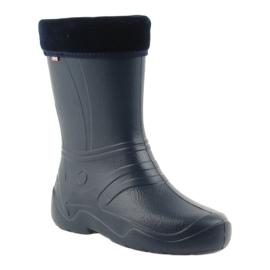 Befado chaussures pour enfants kalosz- grenat 162Q103 marine 2