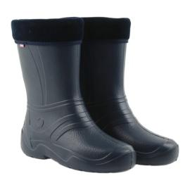 Befado chaussures pour enfants kalosz- grenat 162Q103 marine 4