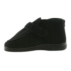 Befado chaussures pour hommes pu orto 987M002 noir 3