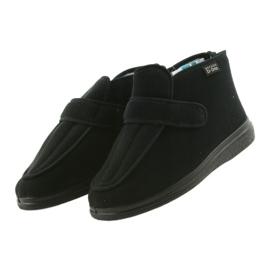 Befado chaussures pour hommes pu orto 987M002 noir 4