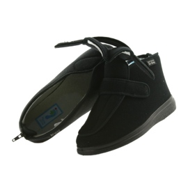 Befado chaussures pour hommes pu orto 987M002 noir 5