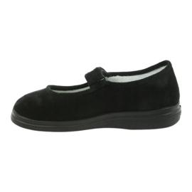 Befado chaussures pour femmes pu 462D002 noir 3
