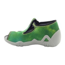 Befado chaussures pour enfants 217P093 vert 3