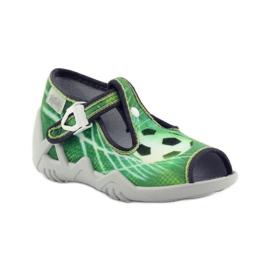 Befado chaussures pour enfants 217P093 vert 2
