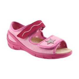 Befado chaussures pour enfants pu 433X032 rose 2