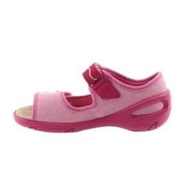 Befado chaussures pour enfants pu 433X032 rose 3