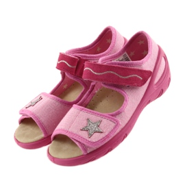 Befado chaussures pour enfants pu 433X032 rose 4