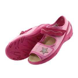 Befado chaussures pour enfants pu 433X032 rose 5