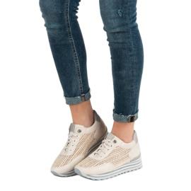 Aclys Sneakers Avec Motif brun 5