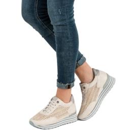 Aclys Sneakers Avec Motif brun 6