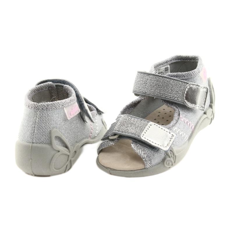 Gris Befado chaussures pour enfants 342P002 argenté image 4
