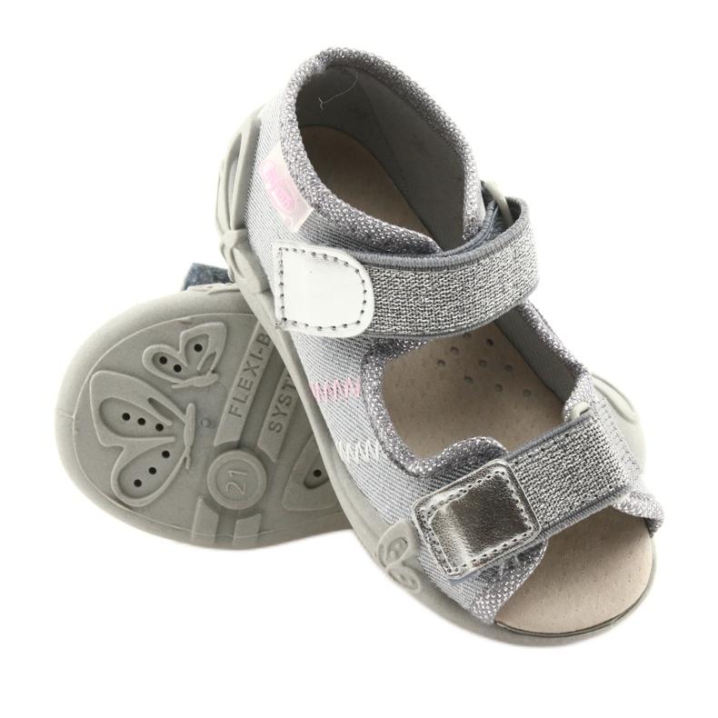 Gris Befado chaussures pour enfants 342P002 argenté image 3
