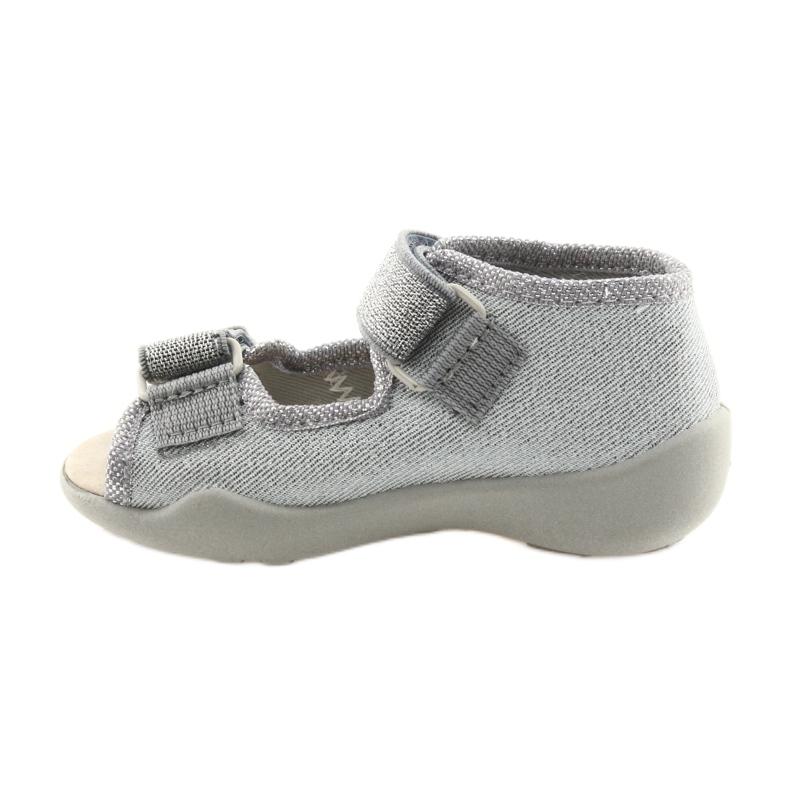 Gris Befado chaussures pour enfants 342P002 argenté image 2