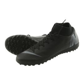 Chaussures de football Nike Mercurial SuperflyX 6 Academy TF M AH7370-001 noir noir 5