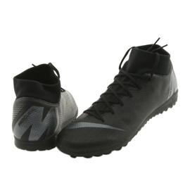 Chaussures de football Nike Mercurial SuperflyX 6 Academy TF M AH7370-001 noir noir 4