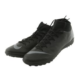 Chaussures de football Nike Mercurial SuperflyX 6 Academy TF M AH7370-001 noir noir 3