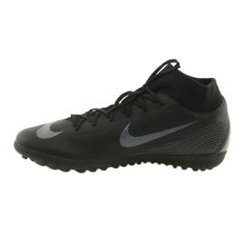 Chaussures de football Nike Mercurial SuperflyX 6 Academy TF M AH7370-001 noir noir 2