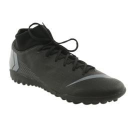 Chaussures de football Nike Mercurial SuperflyX 6 Academy TF M AH7370-001 noir noir 1
