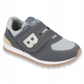 Befado chaussures pour enfants jusqu'à 23 cm 516Y040 gris 1