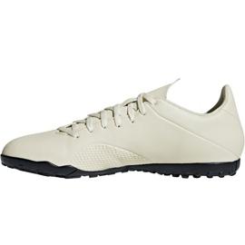 Chaussures de football Adidas X Tango 18.4 Tf M DB2478 blanc blanc 2