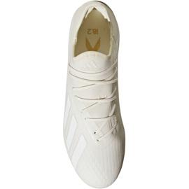Chaussures de foot adidas X 18.2 Fg M DB2181 blanc blanc 2