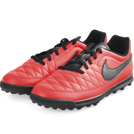 Chaussures de football Nike Majestry Tf M AQ7901-600 rouge rouge 2