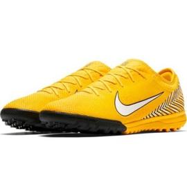 Chaussures de foot Nike Mercurial Vapour 12 Pro Neymar Tf AO4703-710 jaune jaune 2