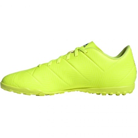 Chaussures de foot adidas Nemeziz 18.4 Tf M BB9473 jaune jaune 2